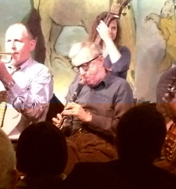 Frente a mí: Woody Allen