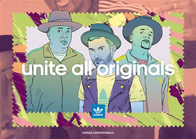 adidas Originals lanzó campaña con Run DMC
