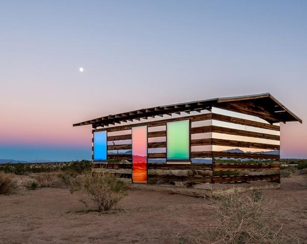 Lucid Stead, espejismo y arte en el desierto