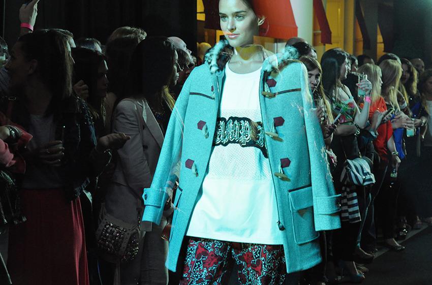 Jazmin Chebar AW14 en cierre de #TrendyWeek