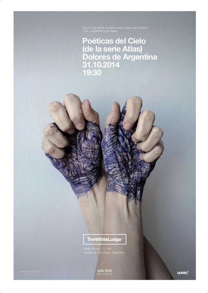 Poéticas del Cielo (de la serie Atlas) por Dolores Cáceres