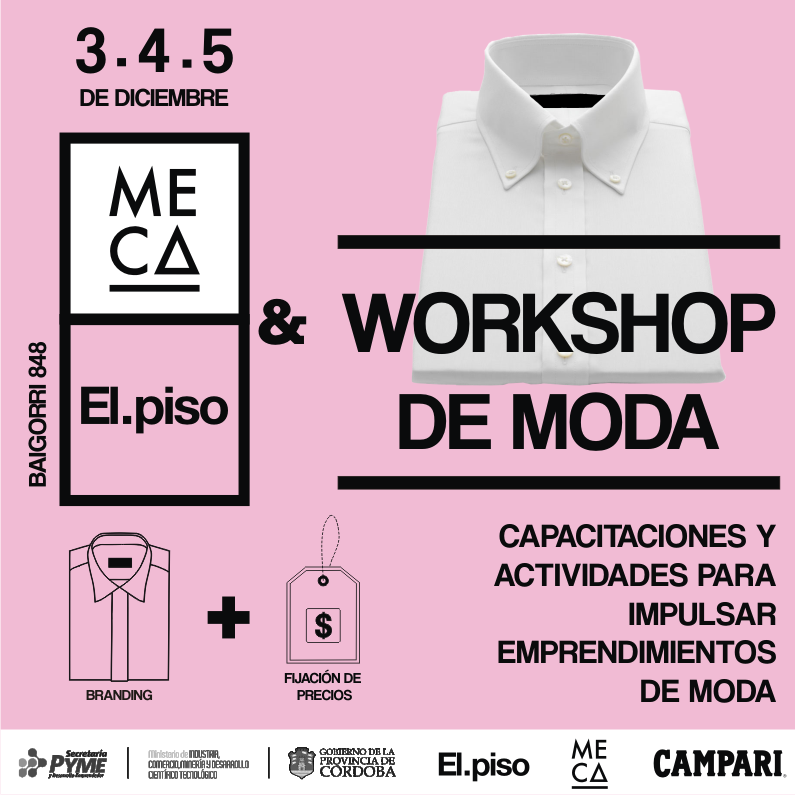 MECA: Workshop de Moda