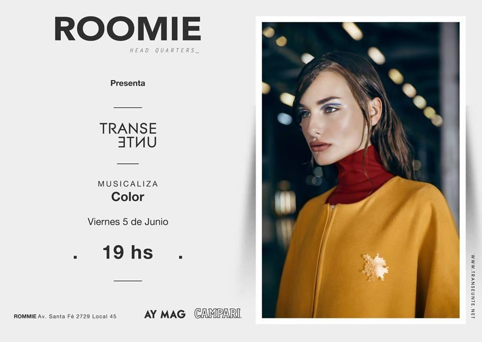 La marca cordobesa Transeúnte llega a Roomie