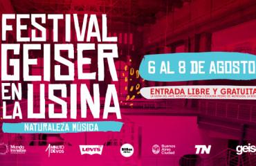Sonidos explosivos: Festival Geiser