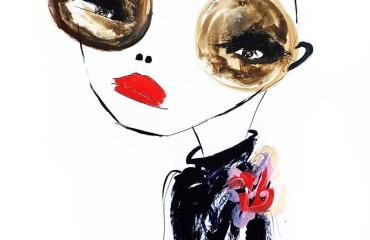 Arte y moda: Las musas de Agustina Souberan