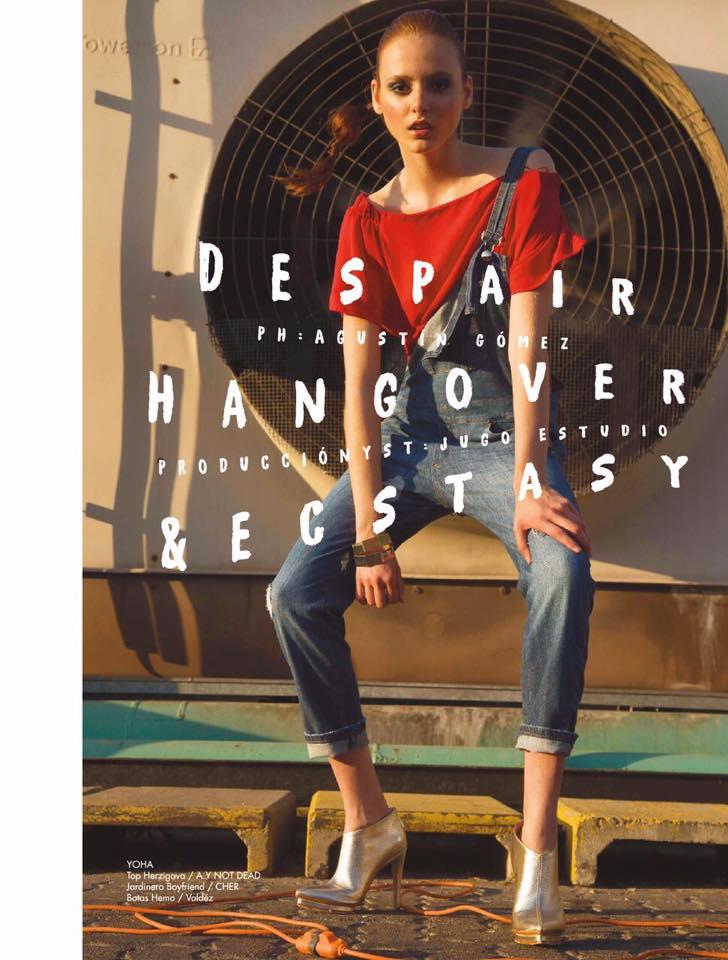 DESPAIR HANGOVER & ECSTASY por Agus Gómez y Jugo Estudio