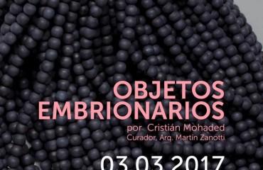 Objetos Embrionarios: Cristián Mohaded