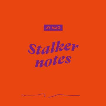 Stalker Notes #01