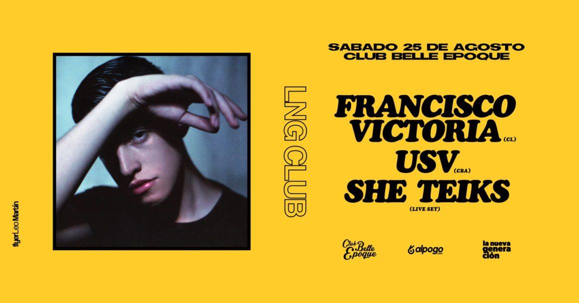 Primera edición de La Nueva Generación Club con Francisco Victoria
