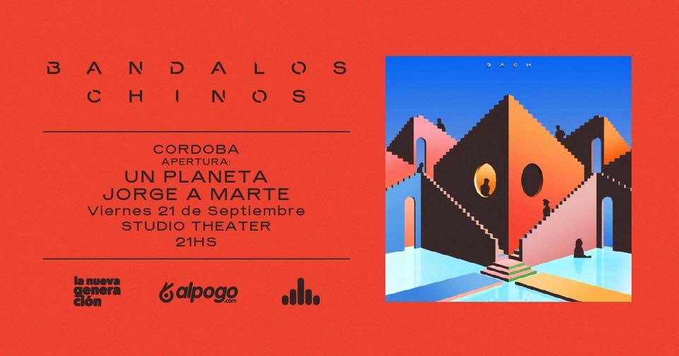 Bandalos Chinos presenta BACH en Córdoba