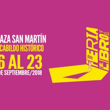 Grilla de la Feria del Libro y el Conocimiento en Córdoba