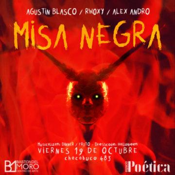 MISA NEGRA: Espacio Poética celebra Halloween en Bastón del Moro