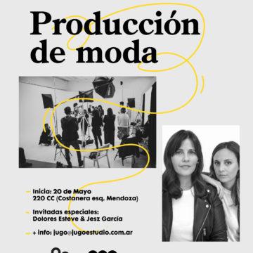 Workshop: Producción de moda dictado por Jugo Estudio en el 220CC