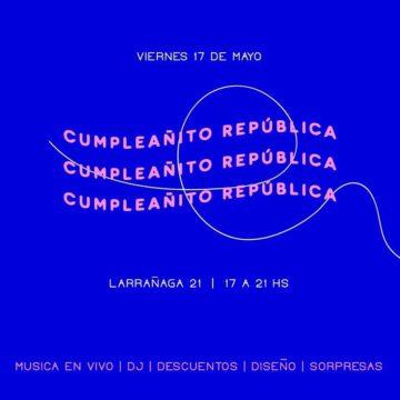 ¡República celebra su primer aniversario!