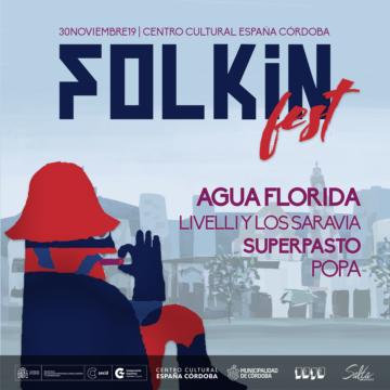Llega la primera edición de Folkin Fest con un lineup compuesto de bandas y solistas del colectivo #SonidoGauch