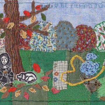 Arte textil y confinamiento por Guadalupe Dean Eguía