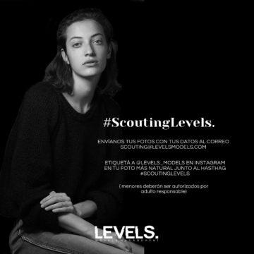 #ScoutingLevels: casting online para futuros modelos