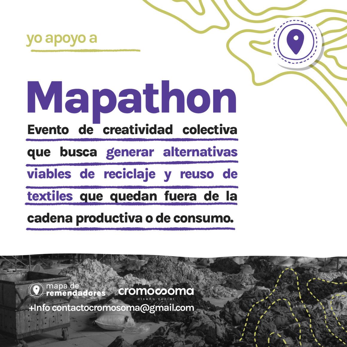 Mapathon: Un evento de creatividad colectiva que busca soluciones al Residuo Textil
